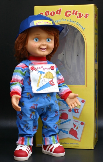 Childs Play Good Guy Doll http://www.big1s.jp/movie-collection/others/childs-play-good-guys/childs-play-good-guys.html